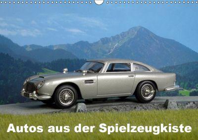 Autos aus der Spielzeugkiste (Wandkalender 2019 DIN A3 quer), Klaus-Peter Huschka