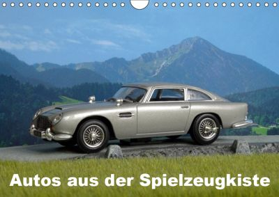 Autos aus der Spielzeugkiste (Wandkalender 2019 DIN A4 quer), Klaus-Peter Huschka