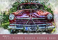 Autoveteranen - kunstvoll inszeniert (Tischkalender 2019 DIN A5 quer) - Produktdetailbild 1