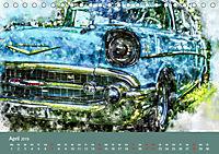 Autoveteranen - kunstvoll inszeniert (Tischkalender 2019 DIN A5 quer) - Produktdetailbild 4
