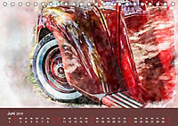Autoveteranen - kunstvoll inszeniert (Tischkalender 2019 DIN A5 quer) - Produktdetailbild 6