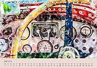 Autoveteranen - kunstvoll inszeniert (Tischkalender 2019 DIN A5 quer) - Produktdetailbild 7