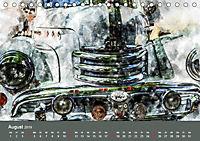 Autoveteranen - kunstvoll inszeniert (Tischkalender 2019 DIN A5 quer) - Produktdetailbild 8