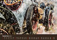 Autoveteranen - kunstvoll inszeniert (Tischkalender 2019 DIN A5 quer) - Produktdetailbild 9