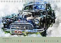 Autoveteranen - kunstvoll inszeniert (Tischkalender 2019 DIN A5 quer) - Produktdetailbild 11