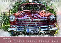 Autoveteranen - kunstvoll inszeniert (Wandkalender 2019 DIN A4 quer) - Produktdetailbild 1