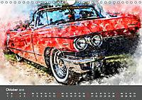 Autoveteranen - kunstvoll inszeniert (Wandkalender 2019 DIN A4 quer) - Produktdetailbild 10