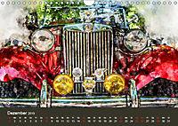 Autoveteranen - kunstvoll inszeniert (Wandkalender 2019 DIN A4 quer) - Produktdetailbild 12