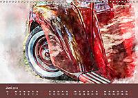 Autoveteranen - kunstvoll inszeniert (Wandkalender 2019 DIN A3 quer) - Produktdetailbild 6