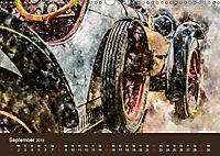 Autoveteranen - kunstvoll inszeniert (Wandkalender 2019 DIN A3 quer) - Produktdetailbild 9