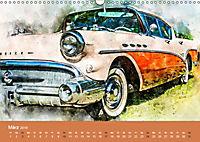 Autoveteranen - kunstvoll inszeniert (Wandkalender 2019 DIN A3 quer) - Produktdetailbild 3