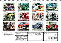 Autoveteranen - kunstvoll inszeniert (Wandkalender 2019 DIN A3 quer) - Produktdetailbild 13