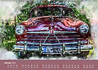 Autoveteranen - kunstvoll inszeniert (Wandkalender 2019 DIN A2 quer) - Produktdetailbild 1