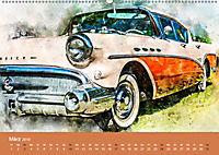 Autoveteranen - kunstvoll inszeniert (Wandkalender 2019 DIN A2 quer) - Produktdetailbild 3
