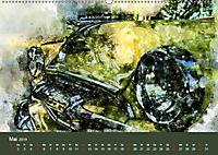 Autoveteranen - kunstvoll inszeniert (Wandkalender 2019 DIN A2 quer) - Produktdetailbild 5