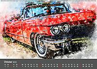 Autoveteranen - kunstvoll inszeniert (Wandkalender 2019 DIN A2 quer) - Produktdetailbild 10