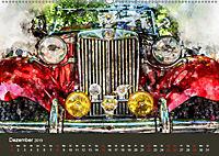Autoveteranen - kunstvoll inszeniert (Wandkalender 2019 DIN A2 quer) - Produktdetailbild 12