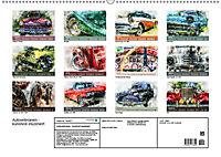 Autoveteranen - kunstvoll inszeniert (Wandkalender 2019 DIN A2 quer) - Produktdetailbild 13