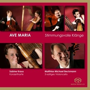 Ave Maria-Cello Und Harfe, Matthias Michael Beckmann