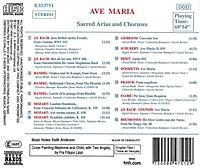 Ave Maria (Geistliche Arien und Chöre) - Produktdetailbild 1