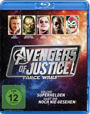 Avengers of Justice: Farce Wars, Amy Smart, Simon Rex, Shawn Michaels