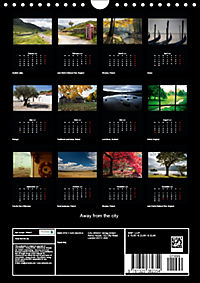 Away from the city (Wall Calendar 2019 DIN A4 Portrait) - Produktdetailbild 13