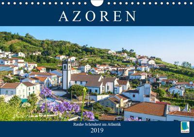 Azoren: Rauhe Schönheit im Atlantik (Wandkalender 2019 DIN A4 quer), CALVENDO