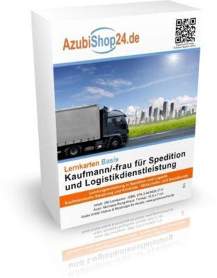 AzubiShop24.de Basis-Lernkarten Kaufmann/-frau für Spedition und Logistikdienstleistung, Michaela Rung-Kraus