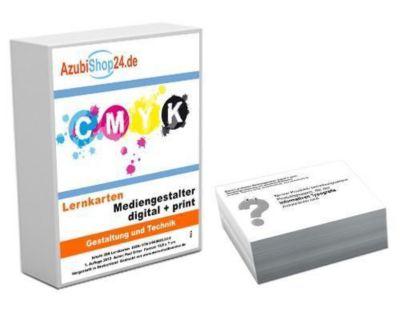 AzubiShop24.de Basis-Lernkarten Mediengestalter / Mediengestalterin Digital + Print, Paul Sitter