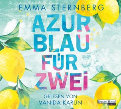 Azurblau für zwei, 6 Audio-CDs, Emma Sternberg