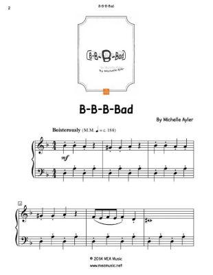 B-B-B-Bad, Michelle Ayler