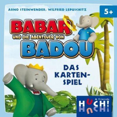 Babar und die Abenteuer von Badou (Kartenspiel)