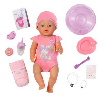 BABY born interactive Mädchen, Babypuppe