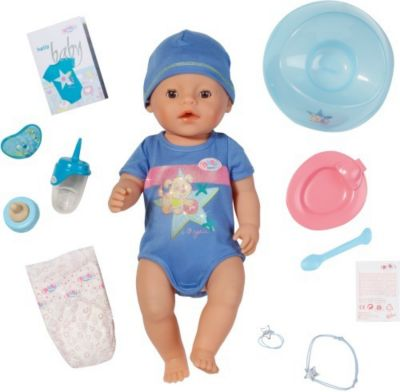 BABY born Interactive Puppe Junge