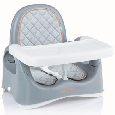 Babymoov kompakte Sitzerhöhung für Tisch, Smokey
