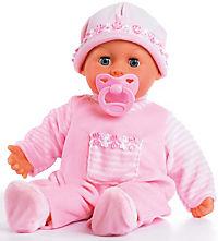 """Babypuppe mit Schlafaugen """"Meine ersten Worte"""" mit 24 Funktionen (rosa) - Produktdetailbild 1"""