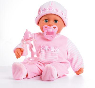 Babypuppe mit Schlafaugen Meine ersten Worte mit 24 Funktionen (rosa)