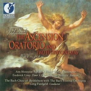 Bach Ascension Oratorio, Greg Funfgeld, Bach Choir Of Bethlehem