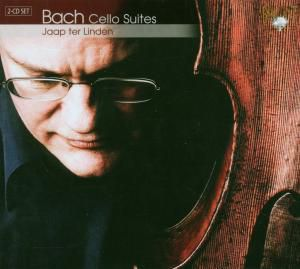 Bach Cello Suites, 2 CDs, Jaap Ter Linden