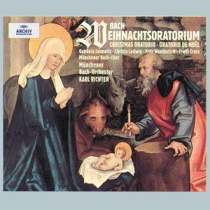 Bach: Christmas Oratorio, Janowitz, Ludwig, Wunderlich, Richter, Mbo
