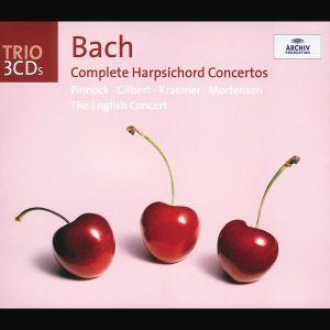 Bach: Harpsichord Concertos BWV 1052-1054, Trevor Pinnock, Ec