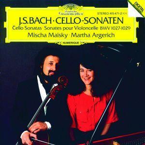 Bach, J.S.: Cello Sonatas BWV 1027-1029, Mischa Maisky, Martha Argerich