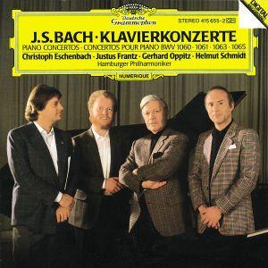 Bach, J.S.: Piano Concertos BWV 1060, 1061, 1063 & 1065, Eschenbach, Helmut Schmidt, Frantz, Oppitz