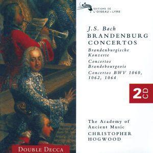 Bach, J.S.: The Brandenburg Concertos, Christopher Hogwood, Aam