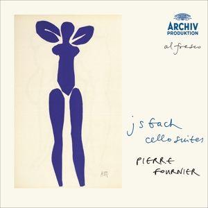 Bach, J.S.: The Cello Suites, Pierre Fournier