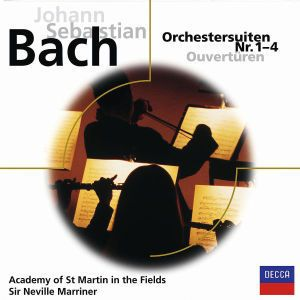 Bach: Orchestersuiten Nr.1-4, Neville Marriner, Amf