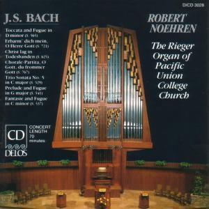 Bach/Orgelmeisterwerke, Robert Noehren