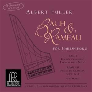 Bach & Rameau For Harpsichord, Albert Fuller