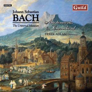 Bach:Werke Für Clavichord, Derek Adlam