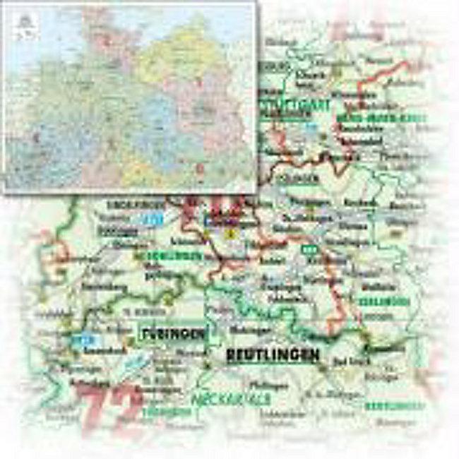 Norddeutschland Karte.Bacher Orga Karte Norddeutschland Maßstab 1 500 000 Papierkarte